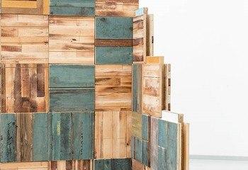 Asplan Viak på Byggavfallskonferansen / Byggeblokker i returtre produsert i prosjektet Nordic Built Component Reuse