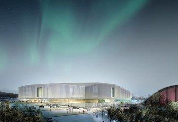 Slik utformer vi brannsikre bygg / Tromsøbadet. Illustrasjon: Asplan Viak