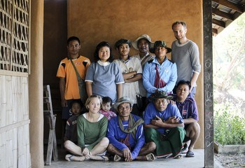 Bistandsprosjekt med Gyaw Gyaw  -ekstremvarianten av tverrfaglig arbeid / Hele organisasjonen hos Gyaw Gyaw. Foto: Line Ramstad