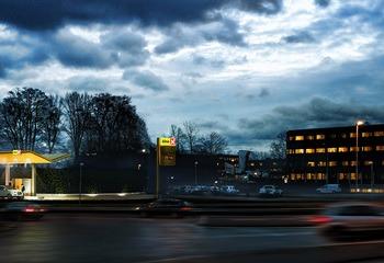 Asplan Viak deltar i bygging av hydrogenstasjon ved Powerhouse Kjørbo /  Først i verden med hydrogen fra energipositivt kontorbygg / Illustrasjon: Asplan Viak