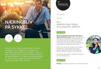 Norsk næringsliv tar sykkelveien til Fornebu /