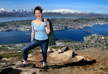 Asplan Viak former Tromsø / Sigrid Rasmussen planlegger for 4.500 nye Tromsø-boliger. Foto: Ronald Johansen /iTromsø