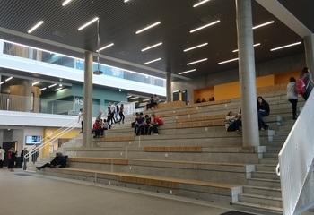 Rygge ungdomsskole / Samlingssted for aktiv bruk. Foto: Asplan Viak