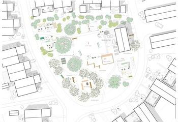 Asplan Viak utvikler energikonsept for Norges første økolandsby / Boligtun 2. Illustrasjon: Stilla utvikling AS