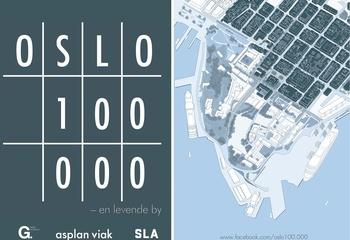 Hvor mange mennesker kan det bo i Oslo sentrum?  /
