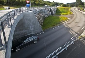 E136 Tresfjordbrua tilførselsveger
