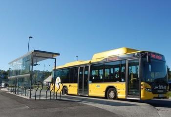 Bussholdeplasser i Grenland