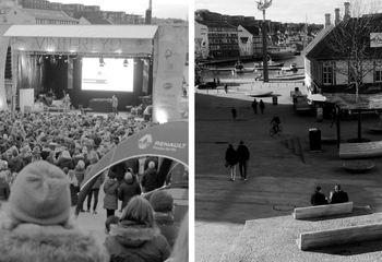 Masteroppgave om Stavanger Torg vekker internasjonal oppmerksomhet / Stavanger torg. Foto: Monica Reinertsen