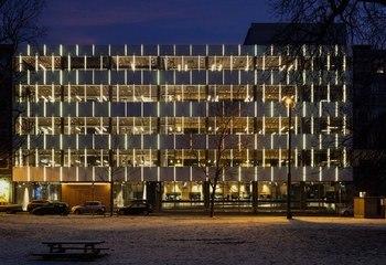 Mat- og merkevarehuset Mills fikk Oslo bys arkitekturpris 2017 / Prestisjepris til industrilokaler i ny prakt. Foto: Adam Stirling, Member Media AS