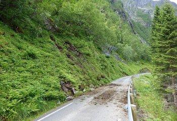Akuttvurdering Steinsprang Fylkesveg 43, Ørsta kommune