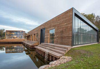 Asplan Viak er med i tre av finaleprosjektene til Årets Bygg  og Årets Anlegg / Redningsselskapets kurs- og konferansesenter i Horten, RS Noatun hvor Asplan Viak har RIByFy, er nominert til prestisjeprisen Årets Bygg 2017. Foto: Caroline Smith.