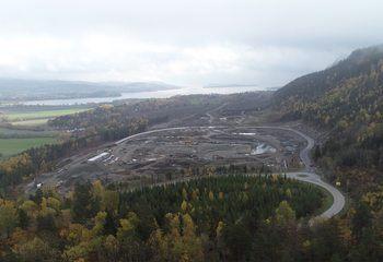 Ny fv. 319 i Hanekleiva, Sande i Vestfold