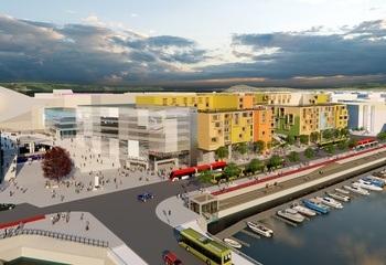 Opplev  Trondheims nye  sentralstasjon /