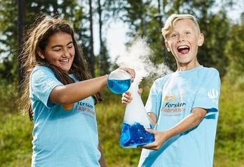 Asplan Viak rekrutterer barneforskere! / Gjennom lek og moro rekrutterer vi fremtidens ansatte. Foto: Forskerfabrikken.