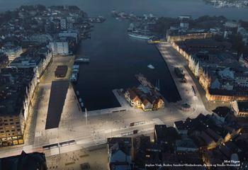 Torget og Bryggen i Bergen