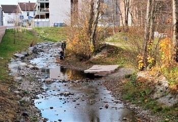 Krokstadelva – Flomsikring, Park og nærmiljøanlegg