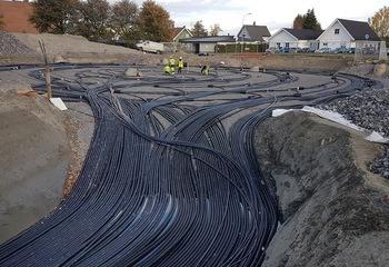 Asplan Viak gratulerer GeoTermosen og Drammen Eiendom som vinner av «Årets lokale klimatiltak 2020» på Zerokonferansen! / Grunnvarme. Foto: Asplan Viak
