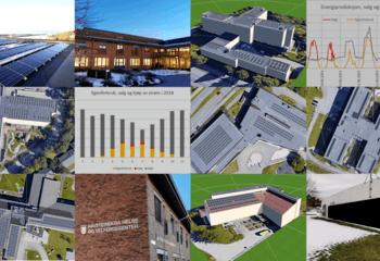 Mulighetsstudie solceller Trondheim kommune