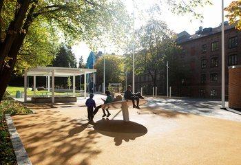 Asplan Viak i finalen til Oslo bys arkitekturpris 2020 / Lakkegata aktivitetspark er finalist til Oslo bys arkitekturpris 2020. Foto: Asplan Viak