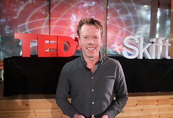 Asplan Viak deltar på TED Countdown / Torsdag kan du se Asplan Viaks Rune Skeie på TED Countdown-scenen hvor han snakker om byplanlegging som en viktig faktor mot tap av biologisk mangfold. Foto: Asplan Viak
