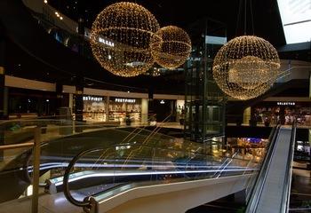 Asplan Viak er nominert til Norsk Lyspris 2020 / Kjøpesenteret Amfi Moa Syd i Ålesund. Foto: Asplan Viak