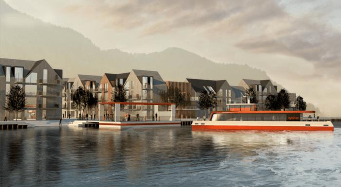 Asplan Viak ser på muligheter for bybåt i Bergen
