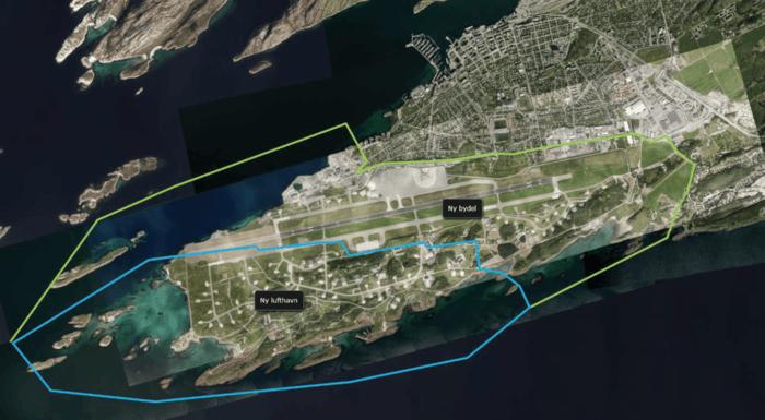 Ny bydel Bodø - parallelloppdrag for transformasjon av flyplass