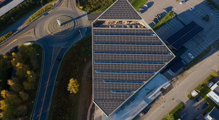 – Powerhouse Telemark: Mest energieffektive solcellepanel noensinne bygget i Norge